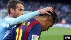Barcelona perdió 1-0 ante el Málaga.