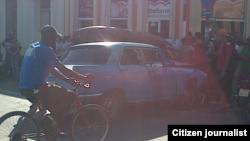 Reporta Cuba. Accidente de tránsito en Santiago de Cuba. Foto: Ridel Brea.
