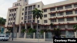 Sede del Grupo de Administración Empresarial S.A., GAESA, controlado por los militares en Cuba.