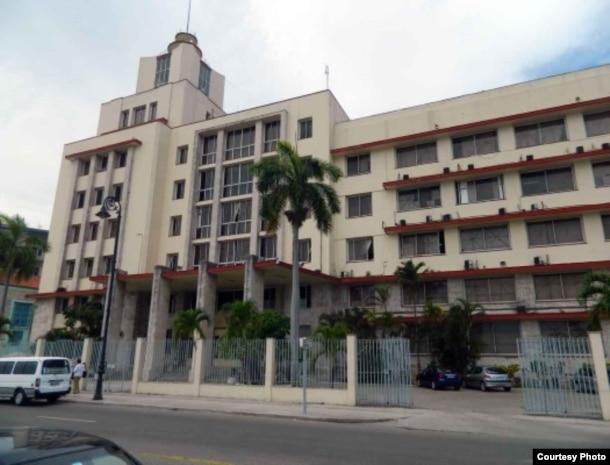 Sede del Grupo de Administración Empresarial S.A., GAESA, un verdadero pulpo controlado por los militares (E.Pérez Chang)