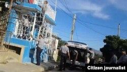 Allanan sede de UNPACU en Santiago de Cuba Foto Liudmila Cedeño