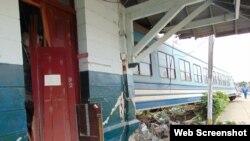 Accidente terminal de trenes Sancti Spiritus