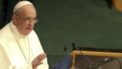 El Papa habla ante la ONU