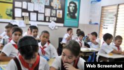 Reporta Cuba niños curso escolar
