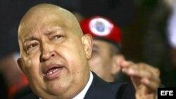 El presidente venezolano, Hugo Chávez, fue intervenido quirúrgicamente en Cuba.