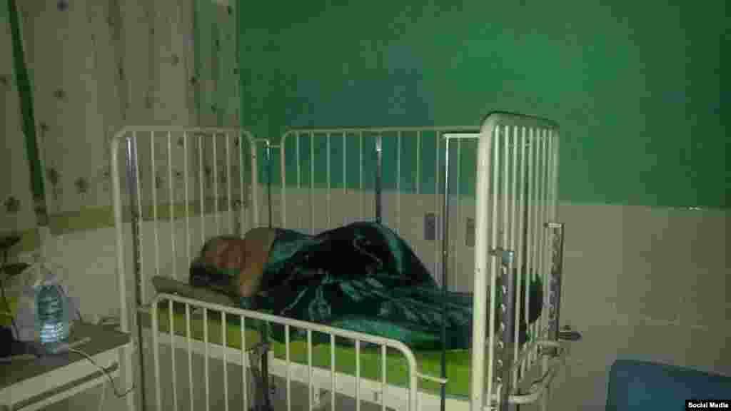 Fotos del hospital ,pediátrico de Holguín colgadas en Facebook por la turista canadiense Nicole Antinello.