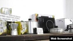 Modulo de utensilios de cocina en venta. Cuba