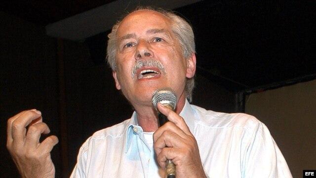 El intelectual mexicano de origen alemán Heinz Dieterich.