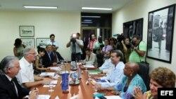 El 9 de septiembre de 2015 se celebró la quinta ronda de negociaciones entre Cuba y la Unión Europea, en La Habana.