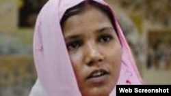 Asis Bibi, cristiana paquistaní condenada a muerte.