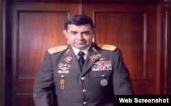El general venezolano Ángel Vivas.