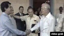 En la primera visita de Carter a La Habana