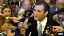 El senador republicano de Texas, Ted Cruz.