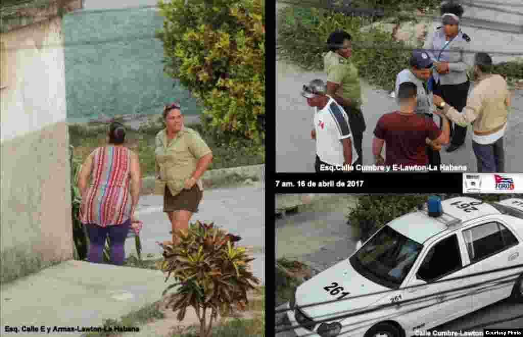 Operativo policial contra las Damas de Blanco