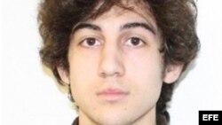 Foto de Dhojar Tsarnaev, segundo sospechoso buscado por la policía