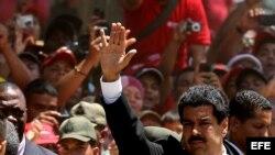 El nuevo presidente de Venezuela, Nicolás Maduro