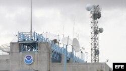 Fotografía de archivo del Centro Nacional de Huracanes de Estados Unidos