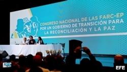RUEDA DE PRENSA DEL CONGRESO NACIONAL DE LAS FARC-EP EN BOGOTÁ