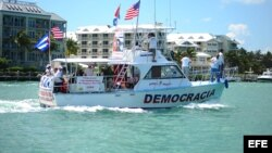 Exiliados cubanos en Miami organizan flotilla de protesta