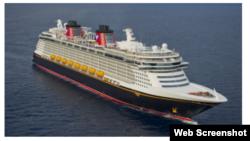 Crucero Disney Wonder rescata a 12 balseros cubanos.