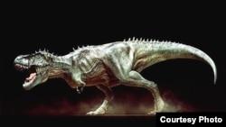 El tiranosaurio rex.