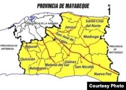 Surgidero de Batabanó, cerca del límite sur entre las provincias de Mayabeque y Artemisa.