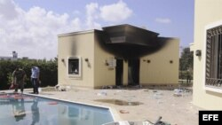 Ataque al consulado de EEUU en Libia