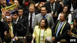 Congreso de Brasil decide destino político de Dilma Rousseff
