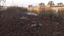 Más de un millón y medio de personas se manifiestan en las calles de París