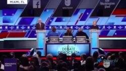 Candidatos demócratas a la presidencia debaten el tema cubano