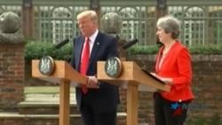 Trump reafirma total respaldo al Reino Unido