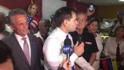 Marco Rubio se reúne con la comunidad venezolana del sur de la Florida