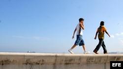 La policía cubana acusa a un menor