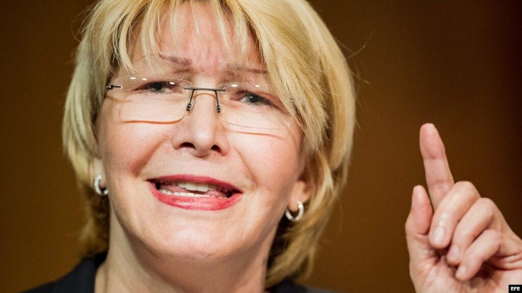 La fiscal general venezolana, Luisa Ortega Díaz.