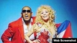 1800 Online con los cantantes cubanos Eduardo Ferrer y Barbara Grave de Peralta