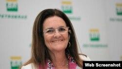 Presidenta de Petrobras, Maria da Gracas Silva Foster.