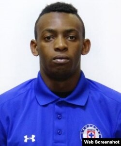 Maykel Reyes, futbolista cubano.