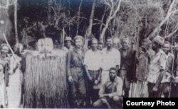 Ernesto Guevara en el Congo.