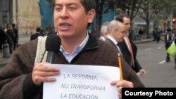 Congresista Carlos Amaya (foto de página digital del legislador)