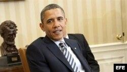 Obama y Rousseff en la Casa Blanca