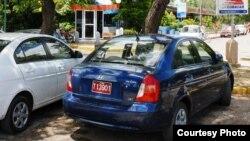 Autos Hyundai rentados por Cubacar en Camagüey