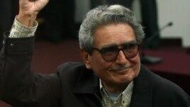 Abimael Guzmán Reynoso, líder de Sendero Luminoso