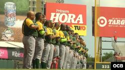 El equipo Pinar del Río debutó este lunes en la Serie del Caribe