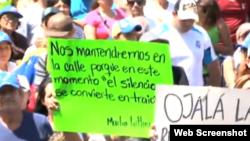 Voluntad Popular en Venezuela febrero 16