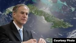 El gobernador de Texas, Gregg Abbott, encabeza una misión comercial a Cuba.