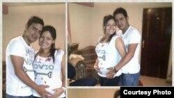 Según sus compañeros de Venevisión, Adriana Urquiola tenía siete meses de embarazo cuando fallecio.