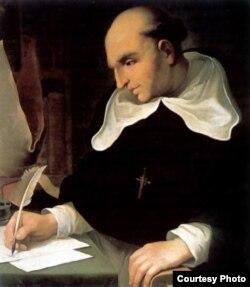 Fray Bartolomé de Las Casas.
