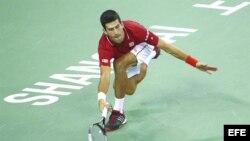 Djokovic no pudo esta vez con Federer.