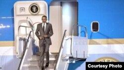 Barack Obama en la Cumbre de las Américas.
