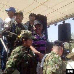 Delegados de la FARC.